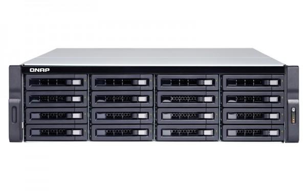 Qnap TS-1673U-RP-8G 16-Bay 128TB Bundle mit 16x 8TB Red Pro WD8003FFBX
