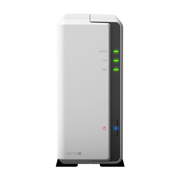 Synology DS115j 1-Bay 1TB Bundle mit 1x 1TB P300 HDWD110
