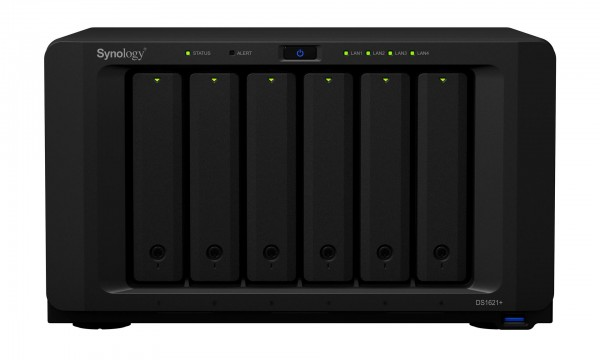 Synology DS1621+ 6-Bay 2TB Bundle mit 2x 1TB Gold WD1005FBYZ
