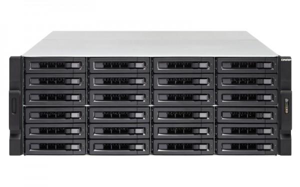 Qnap TS-2483XU-RP-E2136-16G 24-Bay 96TB Bundle mit 12x 8TB Red Pro WD8003FFBX