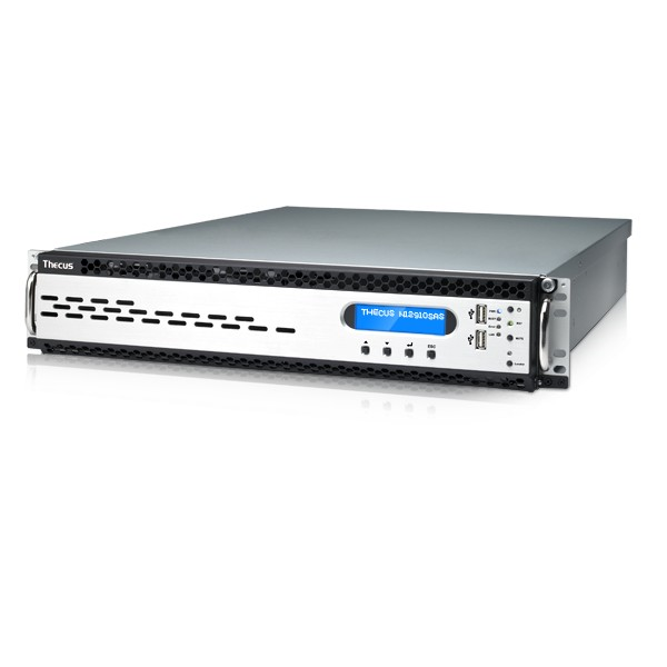 Thecus N12910SA 12-Bay 120TB Bundle mit 12x 10TB Red Pro WD101KFBX