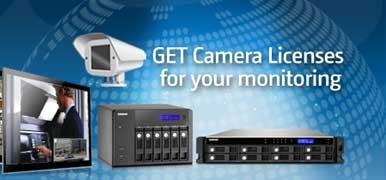 Qnap Kameralizenz für Surveillance Station Pro 3 Kameras