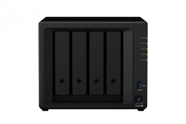Synology DS920+ 4-Bay 56TB Bundle mit 4x 14TB Red Plus WD14EFGX