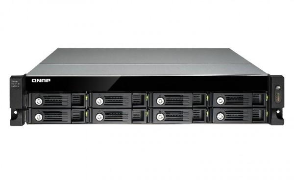 Qnap UX-800U-RP 8-Bay 48TB Bundle mit 8x 6TB IronWolf ST6000VN0033