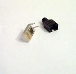 2 Stecker mit Montage, crossover
