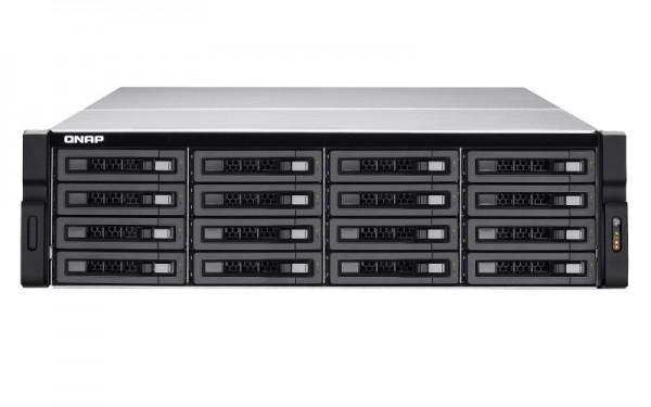 Qnap TVS-EC1680U-SAS-RP-8GE-R2 16-Bay 64TB Bundle mit 8x 8TB Red Pro WD8003FFBX