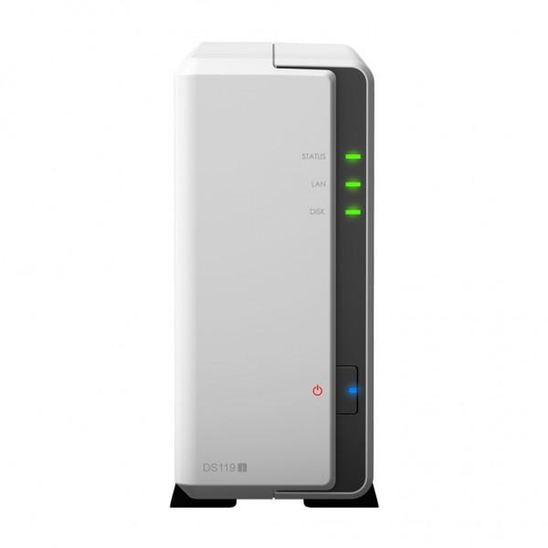 Synology DS119j 1-Bay 2TB Bundle mit 1x 2TB IronWolf ST2000VN004
