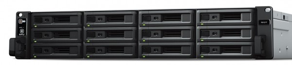 Synology RX1217 12-Bay 96TB Bundle mit 12x 8TB IronWolf Pro ST8000NE001