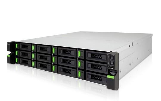 Qsan XCubeNAS XN8012R 12-Bay 48TB Bundle mit 6x 8TB Red Pro WD8003FFBX