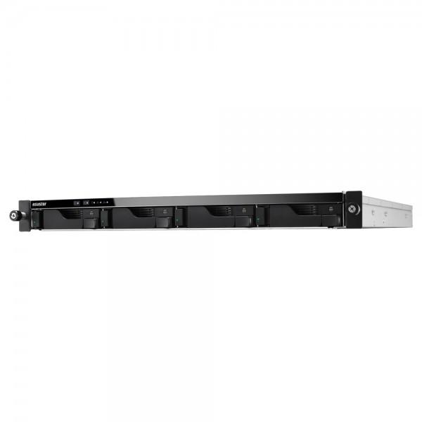 Asustor AS6204RS 4-Bay 40TB Bundle mit 4x 10TB Red Plus WD101EFBX