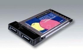 PCMCIA SATA 150 Controller, 2-Kanal