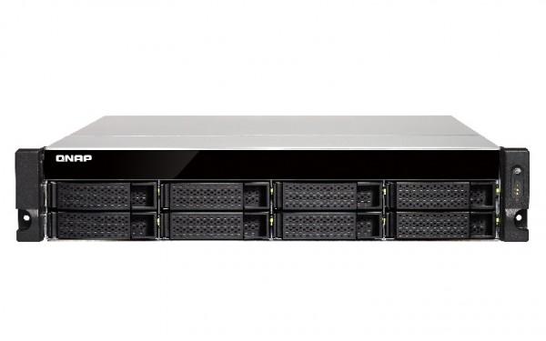 Qnap TS-873U-RP-8G 8-Bay 8TB Bundle mit 2x 4TB Red WD40EFRX