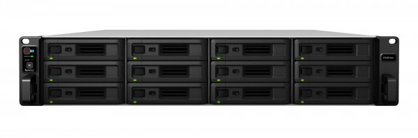 Synology RS3621xs+ 12-Bay 120TB Bundle mit 12x 10TB IronWolf Pro ST10000NE0008