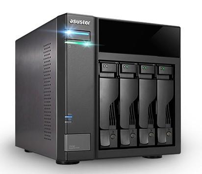 Asustor AS6004U Erweiterungseinheit 4-Bay 40TB Bundle mit 4x 10TB Red Plus WD101EFBX