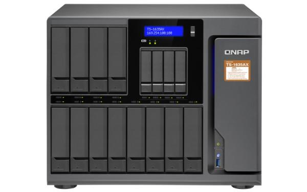 Qnap TS-1635AX-8G 16-Bay 72TB Bundle mit 12x 6TB Red Pro WD6002FFWX