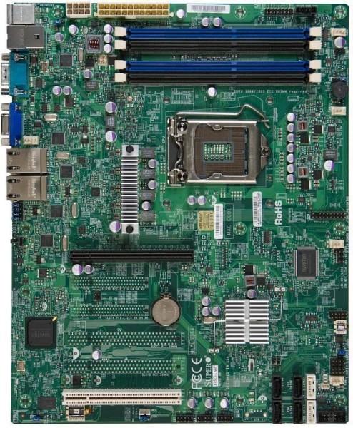 [Restposten / nur 1x verfügbar] Supermicro X9SCI-LN4F, ATX, 1/x16, 4xGBit LAN