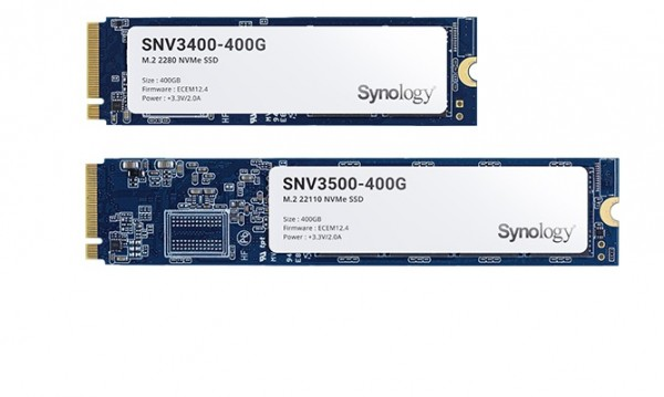 Synology SNV3400-400G - Solid-State-Disk - 400 GB - intern - M.2 2280 - PCI Express 3.0 x4 (NVMe)