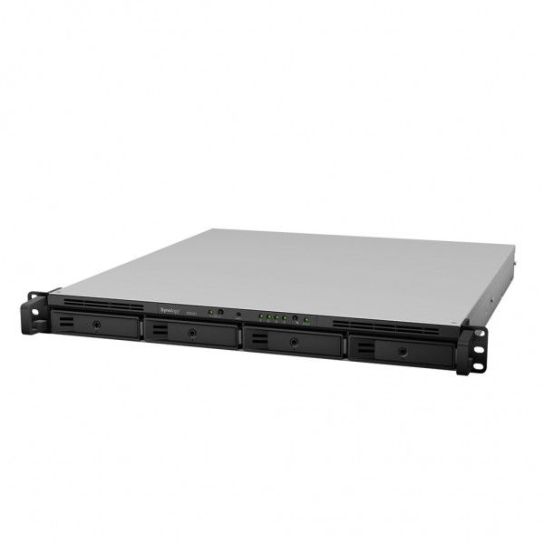 Synology RS818+ 4-Bay 16TB Bundle mit 2x 8TB Red WD80EFAX