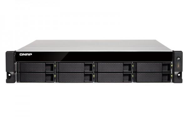 Qnap TS-832XU-RP-8G 8-Bay 64TB Bundle mit 8x 8TB IronWolf ST8000VN0004