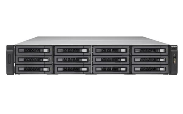 Qnap TES-1885U-D1521-8GR 18-Bay 48TB Bundle mit 12x 4TB HGST Ultrastar SAS