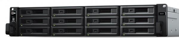 Synology RX1217 12-Bay 144TB Bundle mit 12x 12TB IronWolf Pro ST12000NE0008