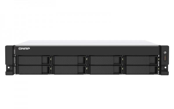 QNAP TS-873AU-16G QNAP RAM 8-Bay 20TB Bundle mit 2x 10TB Red Plus WD101EFBX
