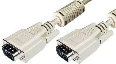 Anschlusskabel 1,8m, VGA / SVGA 15-Pol HD Sub-D Stecker Stecker