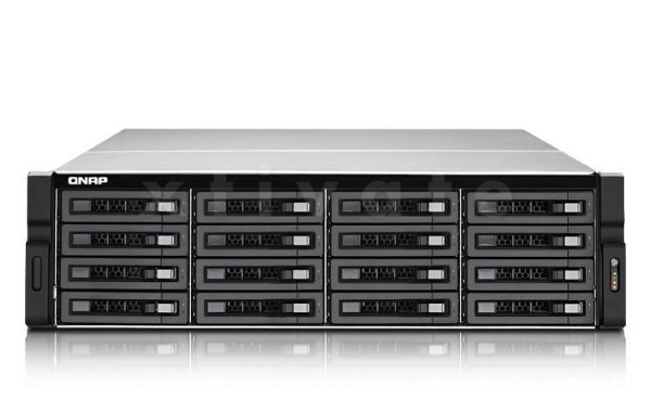 "QNAP TVS-EC1680U-SAS-RP-16G-R2, 4x Gb LAN, 3HE, für 16x 3,5"" Festplatten"