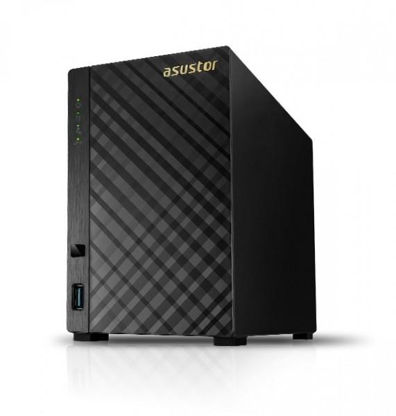 Asustor AS1002T v2 2-Bay 3TB Bundle mit 1x 3TB Red WD30EFAX