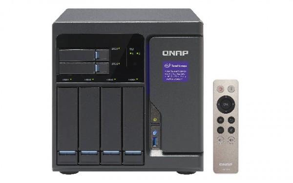 Qnap TVS-682-i3-8G 6-Bay 40TB Bundle mit 4x 10TB IronWolf ST10000VN0004