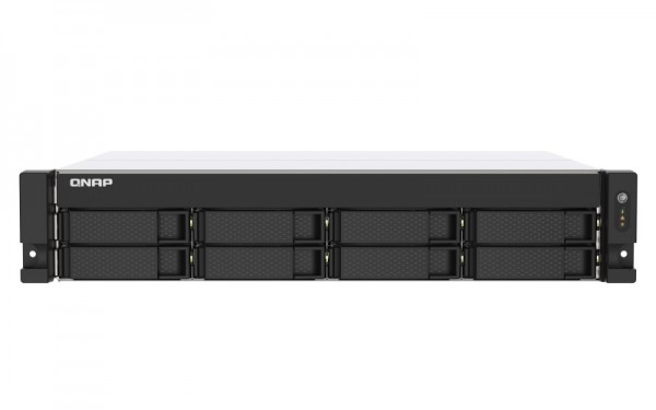 QNAP TS-873AU-16G QNAP RAM 8-Bay 28TB Bundle mit 2x 14TB Red Plus WD14EFGX