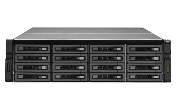 Qnap REXP-1610U-RP 16-Bay 80TB Bundle mit 8x 10TB IronWolf ST10000VN0008