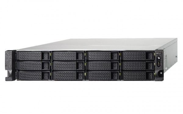 Qnap TS-1273U-RP-8G 12-Bay 60TB Bundle mit 6x 10TB IronWolf ST10000VN0008