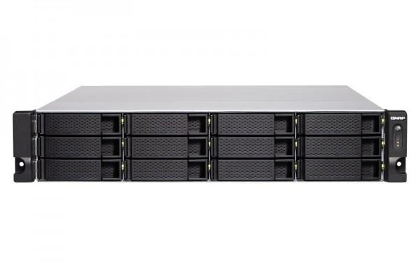 QNAP TS-1886XU-RP-D1622-8G 12-Bay 36TB Bundle mit 6x 6TB Gold WD6003FRYZ