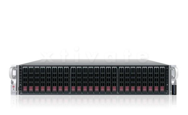 exomium expansion storage S224E R4-1206 Rackmount 2HE mit 7,2TB (12x 600GB SAS)