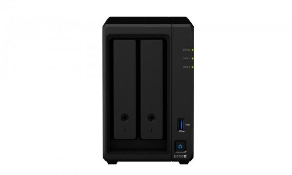 Synology DS720+ 2-Bay 8TB Bundle mit 2x 4TB IronWolf Pro ST4000NE001