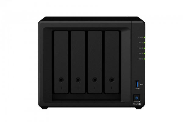 Synology DS920+ 4-Bay 28TB Bundle mit 2x 14TB Red Plus WD14EFGX