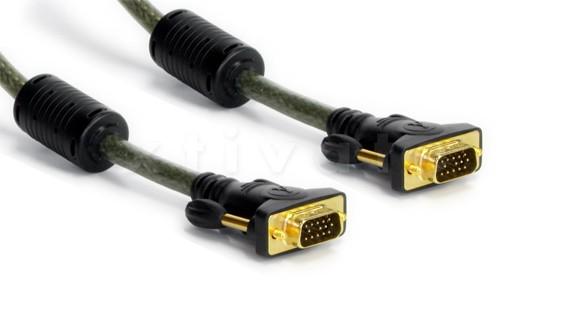 High Quality XGA Anschlusskabel 15-Pol Sub-D Stecker Stecker - 1,8m