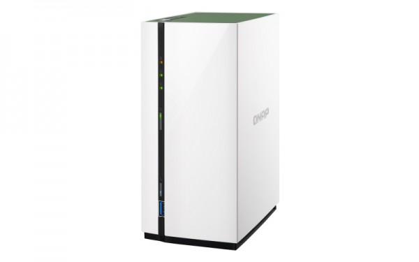 Qnap TS-228A 2-Bay 12TB Bundle mit 2x 6TB IronWolf Pro ST6000NE000