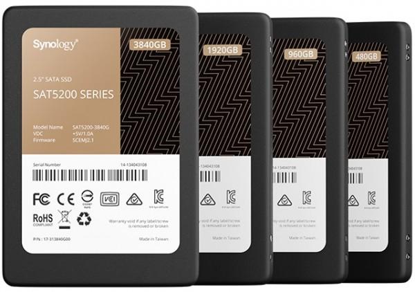 Synology SAT5200 NAS SSD 480GB, SATA 6Gb/s