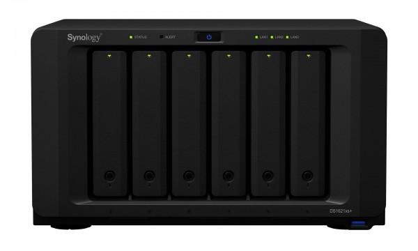 Synology DS1621xs+(16G) Synology RAM 6-Bay 96TB Bundle mit 6x 16TB IronWolf Pro ST16000NE000