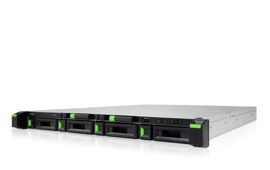 Qsan XCubeNAS XN5004R 4-Bay 12TB Bundle mit 2x 6TB Red WD60EFAX