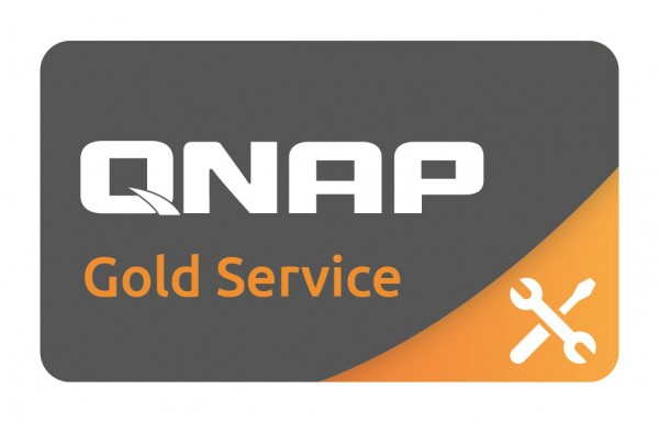 GOLD-SERVICE für Qnap TVS-1272XU-RP-i3-4G