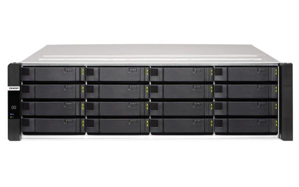 Qnap ES1686dc-2142IT-128G 16-Bay 64TB Bundle mit 8x 8TB Gold WD8004FRYZ
