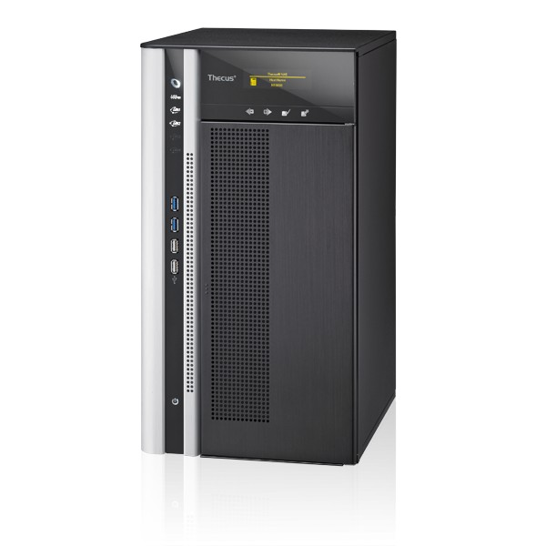 Thecus N10850 10-Bay 10TB Bundle mit 1x 10TB IronWolf Pro ST10000NE0004