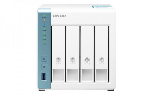 QNAP TS-431K 4-Bay 12TB Bundle mit 4x 3TB Red WD30EFAX