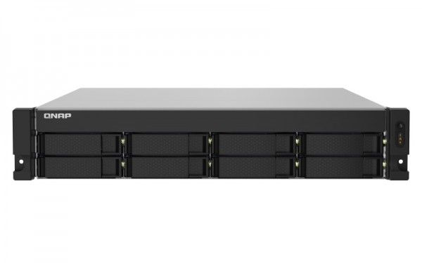 QNAP TS-832PXU-RP-4G 8-Bay 20TB Bundle mit 2x 10TB Red Plus WD101EFBX