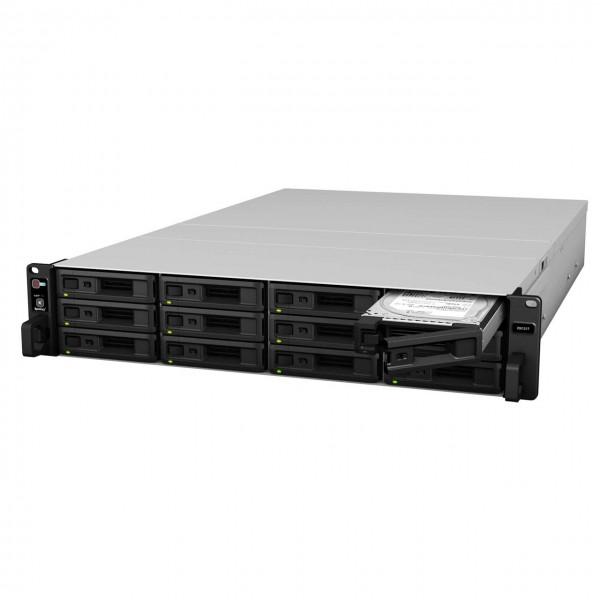 Synology RX1217RP 12-Bay 60TB Bundle mit 6x 10TB IronWolf Pro ST10000NE0008