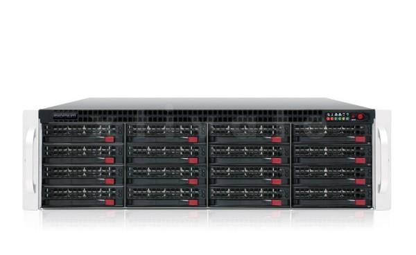 exomium expansion storage 316E R4-830 Rackmount 3HE mit 24TB (8x 3TB)