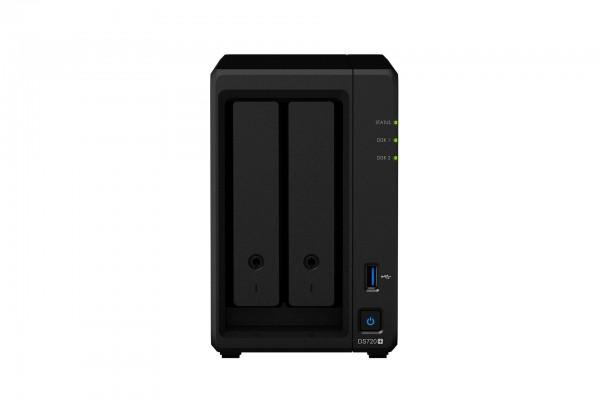 Synology DS720+(6G) Synology RAM 2-Bay 12TB Bundle mit 2x 6TB Red WD60EFAX